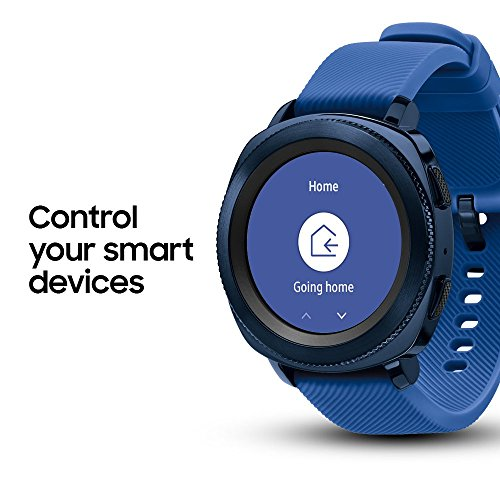 Samsung Gear Sport Smartwatch, Blue (SM-R600NZBAXAR) (Renewed)
