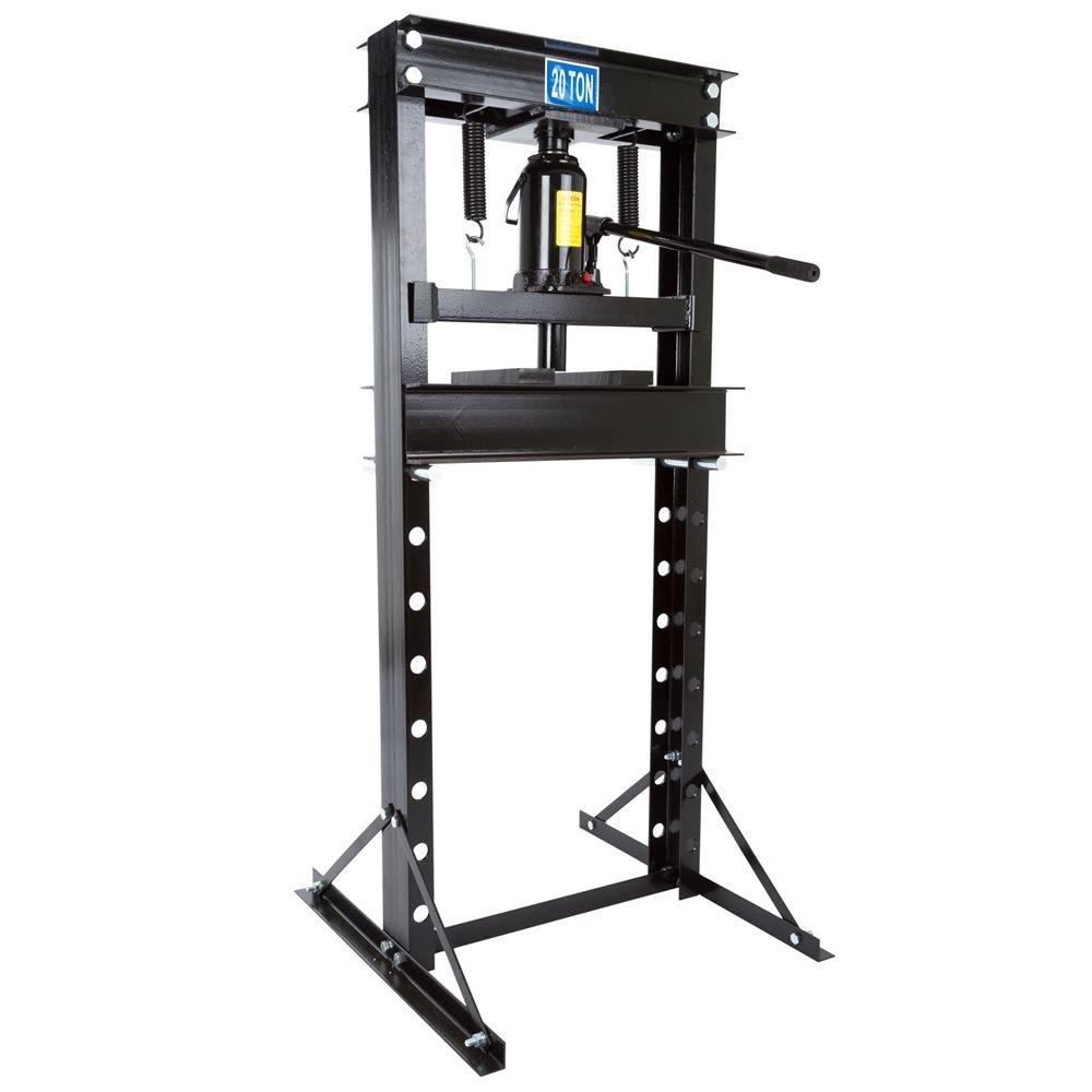 Black Widow 20 Ton Hydraulic Shop Press by Rage Powersports