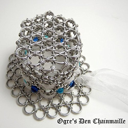 Chainmaille Beaded Tiny Hat