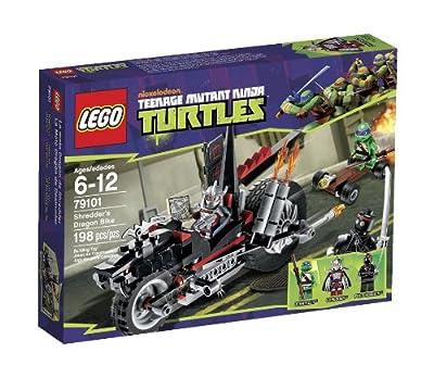 Lego Ninja Turtles Shredder Dragon Bike 79101 from LEGO
