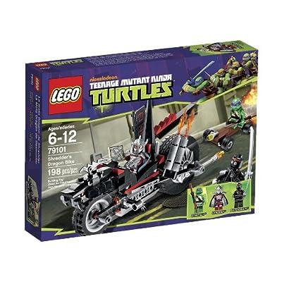 LEGO Ninja Turtles Shredder Dragon Bike 79101: Toys & Games