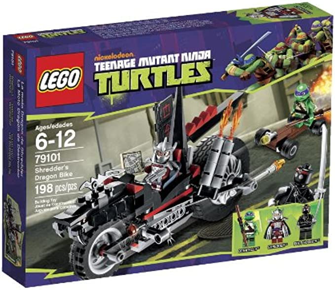 LEGO Ninja Turtles 79101 Shredder Dragon Bike