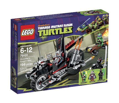 LEGO Ninja Turtles Shredder Dragon Bike 79101