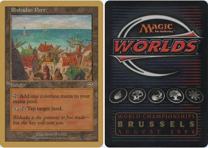 30 Year Old Port (Magic: the Gathering - Rishadan Port - World Championship Deck Singles)