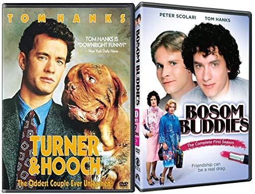 (Meet Two Guys & A Dog Bosom Buddies TV show + Turner & Hooch DVD Bundle Tom Hanks)
