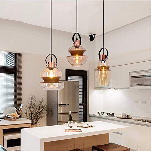 BOSSLV Pendant Lamps Lights Modern Contemporary Iron Painted Minimalist Pull Chain Switch Hanging Lamp E27 Led 220V Pendant Light Fixture Kitchen Parlor Dining Room Cafe, Hanging Borad ()
