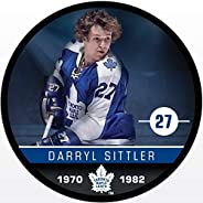 Inglasco Darryl Sittler (Toronto Maple Leafs) Photo Hockey Puck