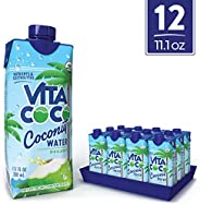 Vita Coco Coconut Water, Pure Organic | Natural Hydrating Electrolyte Drink | Shelf Stable | Smart Alternative To Coffee, So