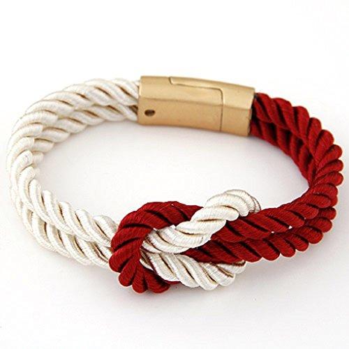 Bracelets Magnetic Clasp 5 Colors unisex Beige