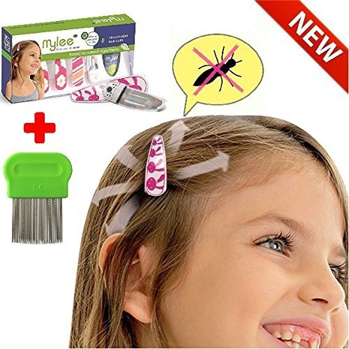 Mylee lice prevention head clips