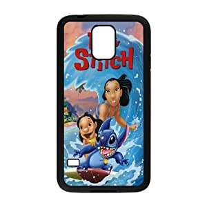 """High quality Disney cartoon Lilo And Stitch,quotes """"Ohana Means Family"""" Case For Samsung Galaxy S5 QWER981712834"""