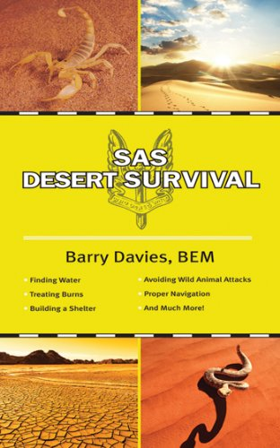 book cover of The SAS Guide to Desert Survival