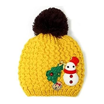 Baby Strickmütze, TheBigThumb Weihnachten Thema Winter Beanie Hut ...