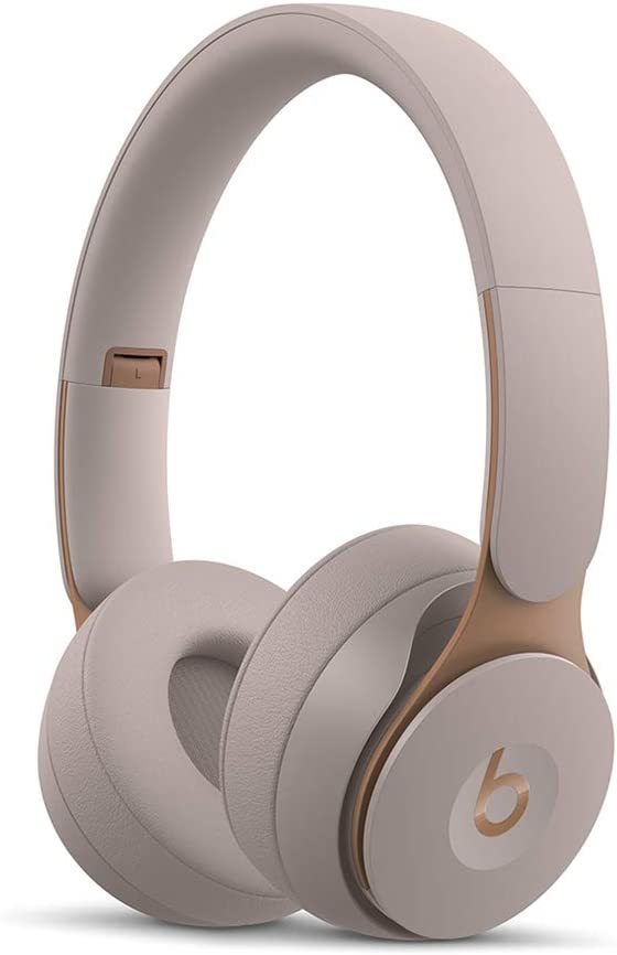 Beats Solo Pro WirelessNoise Cancelling On-Ear Headphones - Apple H1 Headphone Chip, Class 1Bluetooth, Active Noise Cancelling, Transparency, 22 Hours Of Listening Time- Grey