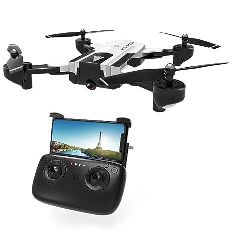 Liaobeiotry juguetes para dron SG900 RC con cámara 4K FPV WiFi ...