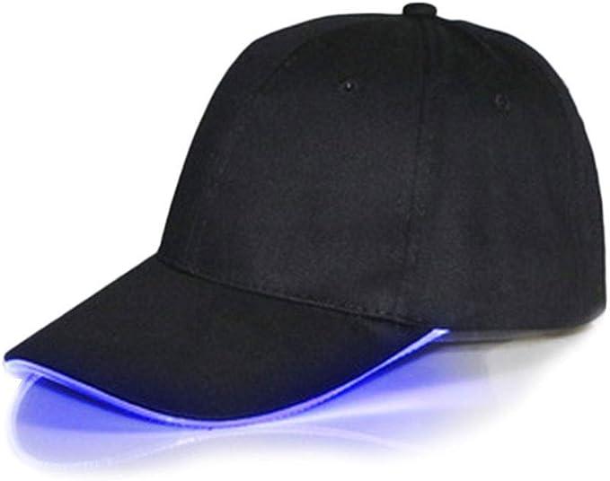 YOUQING Gorra Unisex con luz Brillante en la Noche – Sé el más ...