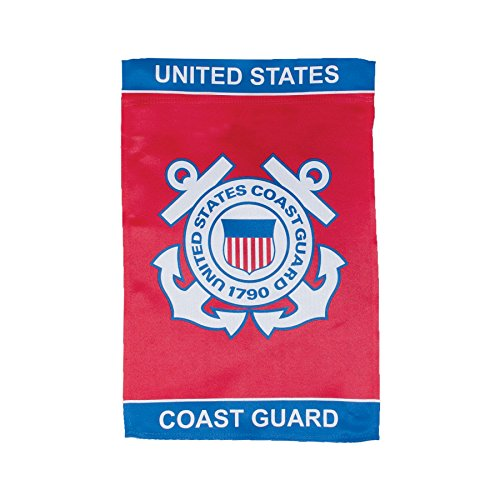 In the Breeze U.S. Coast Guard Lustre Garden Flag ()