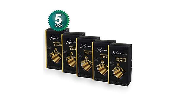 5 Pack Carrefour Coffee Pods - Brasil Espresso Flavor ...