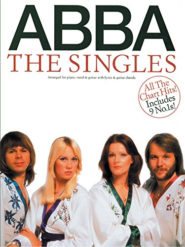 ABBA -- The Singles: Piano/Vocal/Chords -