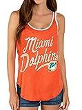 Junk Food NFL Miami Dolphins Orange Juniors Tank Top