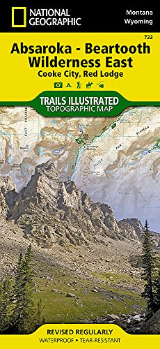 Absaroka-Beartooth Wilderness East [Cooke City, Red Lodge] (National Geographic Trails Illustrated -