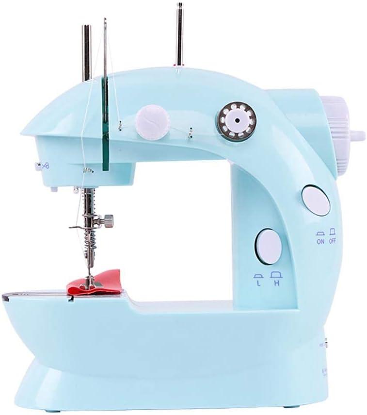 Duan Maquina Coser Infantil Electrica, Multifuncional pequeña máquina de Bordado máquina de Bordado Mejor máquina de Coser para Principiantes (Azul): Amazon.es: Hogar