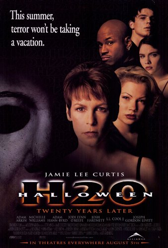 Halloween: H2O Movie Poster (27 x 40 Inches - 69cm x 102cm) (1998) -(Jamie Lee Curtis)(Adam Arkin)(Josh Hartnett)(Michelle Williams)(Adam Hann-Byrd)(Jodi Lyn O'Keefe) -