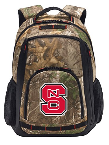 Broad Bay Cotton NC State Camo Backpack REALTREE NC State...