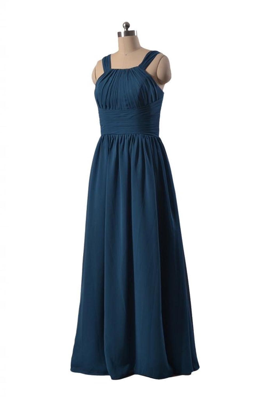 DaisyFormals Long Chiffon Bridesmaid Dress Evening Dress Party Dress(BM9823)