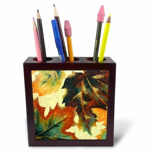 (3dRose ph_27073_1 Autumn Soon-Tile Pen Holder, 5-Inch)