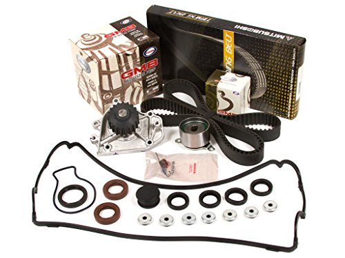 Evergreen TBK184MVC Fits Timing Belt Kit, Valve Cover Gasket, and GMB Water Pump Fits 96-01 Honda Acura B18B1 B20B4 B20Z2 - Honda Timing Cover Gasket