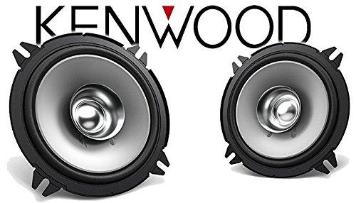 Einbauset f/ür Renault Twingo 2 Front Heck Lautsprecher Boxen Kenwood KFC-S1356-13cm Koax Auto Einbauzubeh/ör JUST SOUND best choice for caraudio