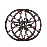 "MTB 5 spokes mountain bike wheels magnesium alloy 26 speeds wheels 26"" 27.5"" Mountain Bicycle Wheel parts bike rims (26 inch)"