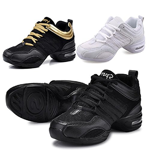 Sneakers M up Breathable Boost Dance Gold Lace 10 Women's D2C US Black Beauty xawOP0p