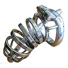 BDSM chastity cage length male chastity device penis lock cock penis ring S033