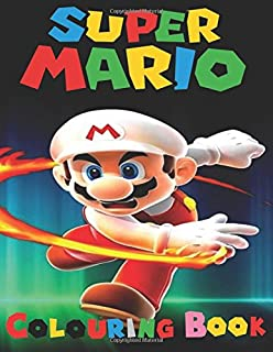 super mario colouring book this a4 45 page colouring book for kids has fantastic images - Super Mario Coloring Book