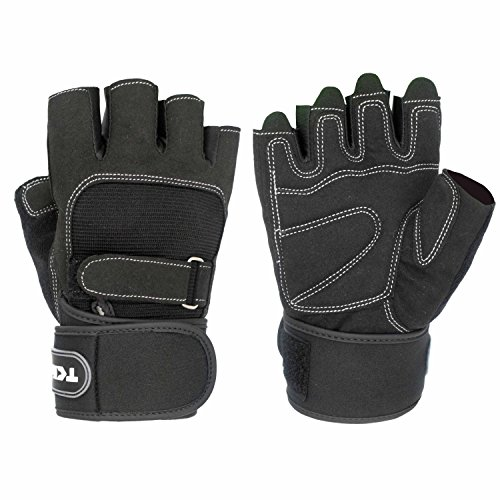 TClian-Weight-Lifting-Gloves-Training-Fitness-Gym-Gloves-Wrist-Wraps-Support-for-Weightlifting-CrossFit-Training-Fitness-Gym-Workout-Exercise-Washable-Breathable-Non-slip-For-Men-Women