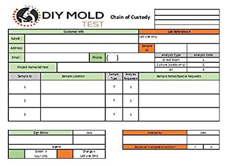 DIY Mold Test, Mold Testing Kit (3 tests)  Lab Analysis and Expert  Consultation included