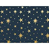 Metallic Nativity Star 30'' x 150' Gift Wrap Roll