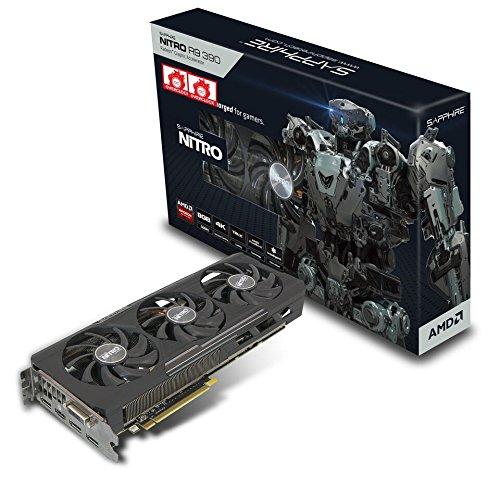 Sapphire Radeon Nitro R9 390 8GB GDDR5 DVI-D/HDMI/Triple DP Tri-X OC Version (UEFI) PCI-E Graphics Card 11244-00-20G ()