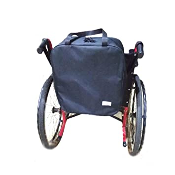 MEYLEE Saco médico de la silla de ruedas del paño de Oxford 5.9 pulgadas grueso x 14.17 pulgadas de ancho x 15.75 pulgadas de altura NEGRO: Amazon.es: ...