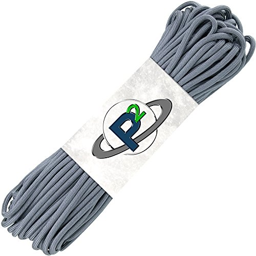 100 feet of paracord in grey - 3