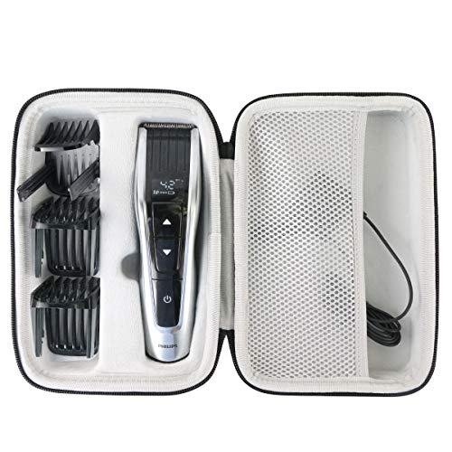 - Khanka Hard Travel Case Replacement for Philips Norelco Hair Clipper series 7100, Model # HC7452/41