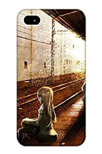 New Style Resignmjwj Anime Steins Gate Premium Tpu Cover Case For Iphone 4/4s