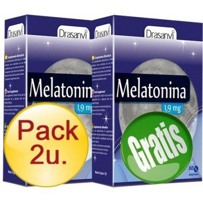 ESI - PACK 2+1 MELATONINA 1.9 mg 60 comprimidos - MELATONINA-60-pack: Amazon.es: Salud y cuidado personal