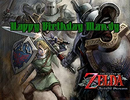 Legend Of Zelda Comestible Para Tarta de fotos de imagen ...