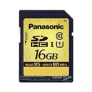 Panasonic 16GB SDHC - Tarjeta de Memoria (16 GB, Secure ...