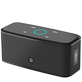 Bluetooth Speakers, DOSS SoundBox Touch Portable Wireless Bluetooth Speakers with 12W HD Sound and Bass, IPX5 Waterproof…
