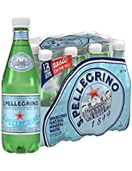 S.Pellegrino Sparkling Natural Mineral Water, 16.9 fl oz. (12 Count)