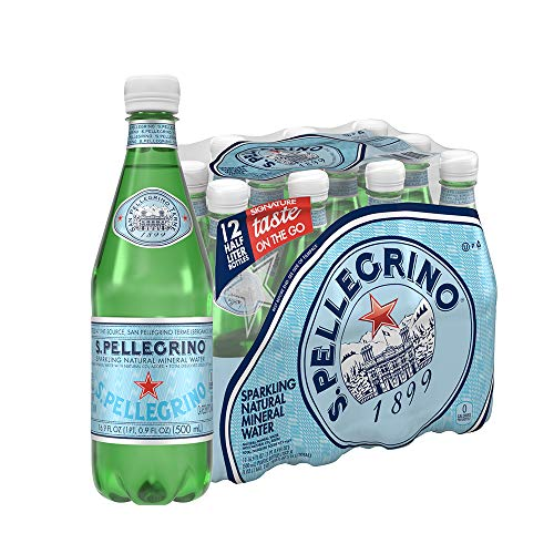 S.Pellegrino Sparkling Natural Mineral Water, 16.9 fl oz. (12 Count) ()